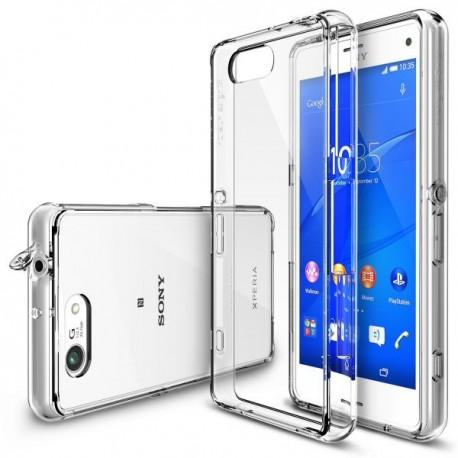 Etui za Sony Xperia Z3 Compact Ringke FUSION Crystal Clear