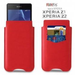 Torbica za Sony Xperia Z2 Slip Case Monza Red ,Rdeča barva