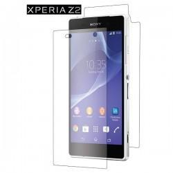 Zaščitna Folija ekrana za Sony Xperia Z2 Sprednja+Zadnja folija