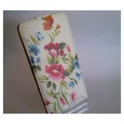 Torbica za Sony Xperia Z2 Preklopna + Zaščitna folija ekrana ,Lady -Flowers