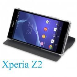 Torbica za Sony Xperia Z2 Preklopna ,Book Case - Črna Barva SMA5141B