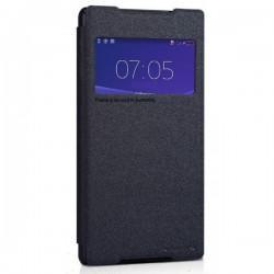 Torbica za Sony Xperia Z2 S-View ,Temno siva barva