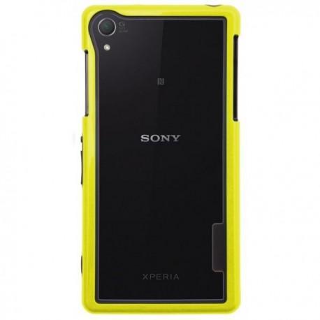 Bumper za Sony Xperia Z2 + Folija ekrana Rumena barva