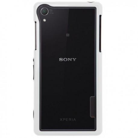 Bumper za Sony Xperia Z2 + Folija ekrana Bela barva