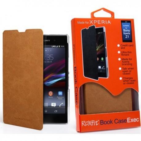 Torbica za Sony Xperia Z1 Preklopna ,Book Case - Desert Tan