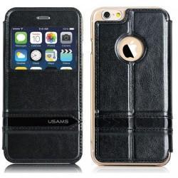 Etui za Apple iPhone 6 (4.7) Preklopna S-View Črna barva