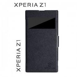 Torbica za Sony Xperia Z1 ,Preklopna Fresh Case,Črna barva