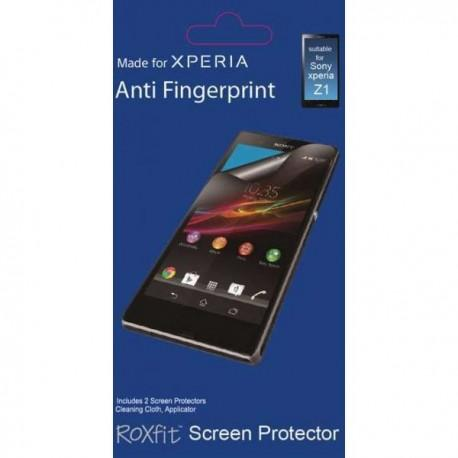 Zaščitna Folija ekrana za Sony Xperia Z1 Anti Finger Duo pack