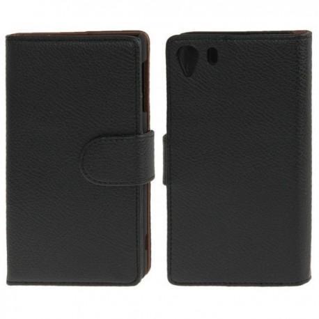 Preklopna Torbica za Sony Xperia Z1 Črna barva