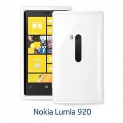 Etui za Nokia Lumia 920 Clear Cover,bela barva