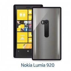 Etui za Nokia Lumia 920 Clear Cover,črna barva