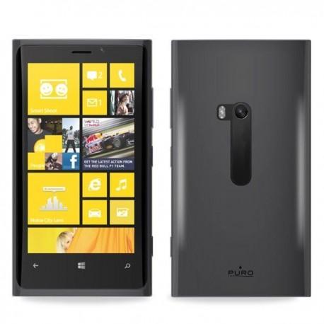 Silikon etui za Nokia Lumia 920,transparentno siva