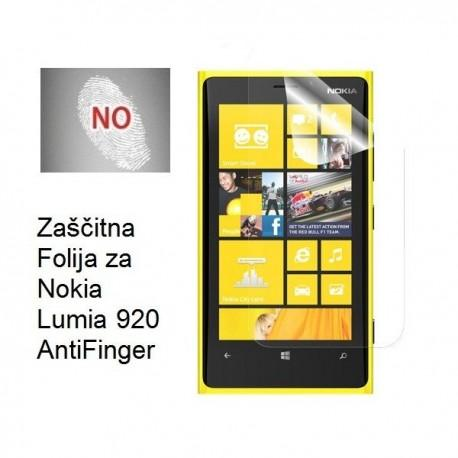 Zaščitna Folija za Nokia Lumia 920 AntiFinger