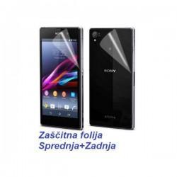 Zaščitna Folija ekrana za Sony Xperia Z1 Sprednja+Zadnja folija