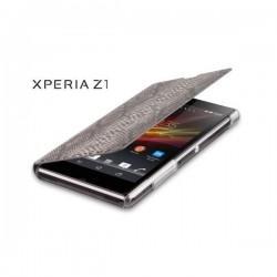 Torbica za Sony Xperia Z1 Preklopna ,Book Case -Pale Cobra