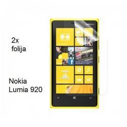 Zaščitna Folija za ekran Nokia Lumia 920,paket 2 v 1