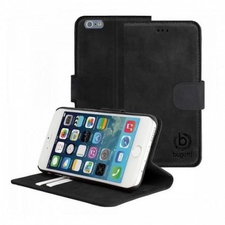 Etui za Apple iPhone 6 (4.7) Bugatti Črna barva