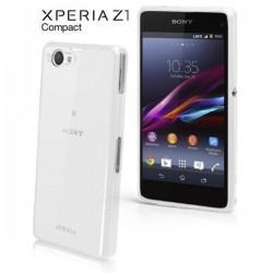 Etui za Sony Xperia Z1 Compact Gel Shell SMA4140W White/Clear