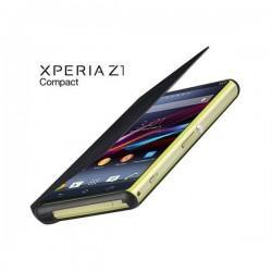 Torbica za Sony Xperia Z1 Compact Preklopna ,Book Case - Črna Black SMA5140B