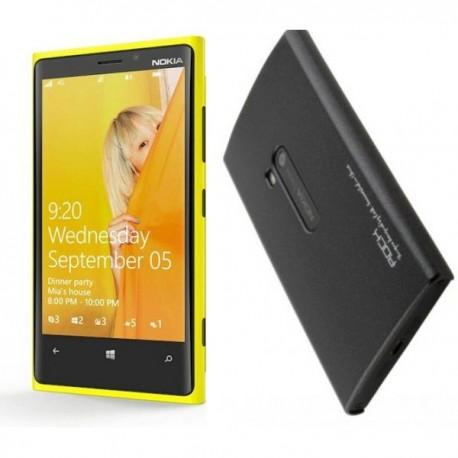 Etui za Nokia Lumia 920,zadnji pokrovček,črna barva
