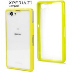 Etui za Sony Xperia Z1 Compact Gel Shell SMA4140GR Lime/Clear