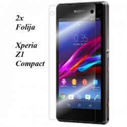 Zaščitna Folija ekrana za Sony Xperia Z1 Compact Duo pack