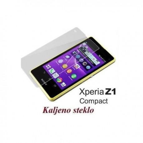 Zaščitno kaljeno steklo za Sony Xperia Z1 Compact Trdota 9H, 0,3 mm