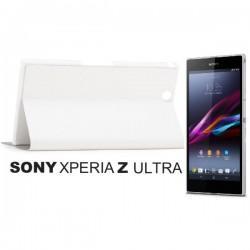 Torbica za Sony Xperia Z Ultra ,Flip Case Stojalo ,Bela barva