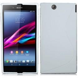 Silikon etui za Sony Xperia Z Ultra ,Bela barva
