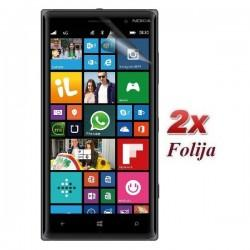 Zaščitna Folija ekrana za Nokia Lumia 830,paket 2 v 1