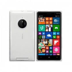 Silikon etui za Nokia Lumia 830,Bela Mat barva+zaščitna folija ekrana