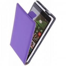 Preklopna Torbica za Nokia Lumia 830,Vijola barva+ Zaščitna folija