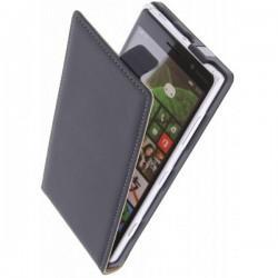 Preklopna Torbica za Nokia Lumia 830,Črna barva+ Zaščitna folija