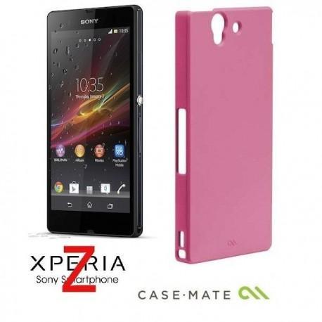 Etui za Sony Xperia Z Case-Mate Barely There Case Zadnji pokrovček, Pink barva
