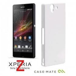 Etui za Sony Xperia Z Case-Mate Barely There Case Zadnji pokrovček, Bela barva
