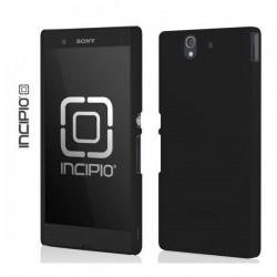 Etui zaščita za Sony Xperia Z Shell / Cover Zadnji pokrovček, črna barva