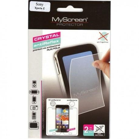 Zaščitna Folija za Sony Xperia Z Duo pack, antifinger, clear