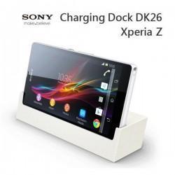 Charging Dock DK26 Sony Xperia Z Namizni Polnilec , bela barva
