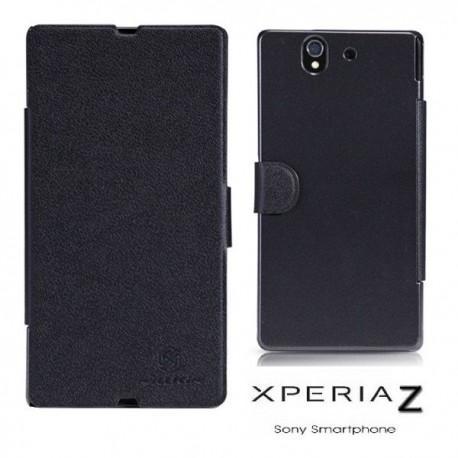 Torbica za Sony Xperia Z Preklopna Book Case, črna barva