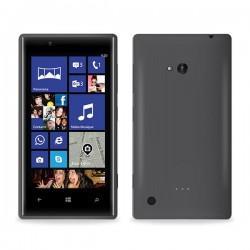 Silikon etui za Nokia Lumia 720,prozorno siva barva