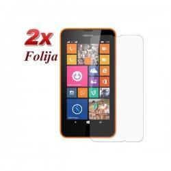 Zaščitna Folija ekrana za Nokia Lumia 630/635,paket 2 v 1