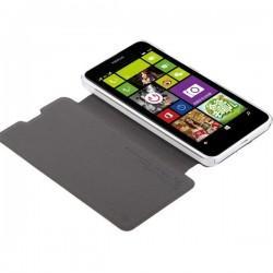 Torbica za Nokia Lumia 630/635,preklopna,bela barva