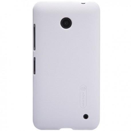 Etui za Nokia Lumia 630/635,zadnji pokrovček,bela barva+Folija ekrana