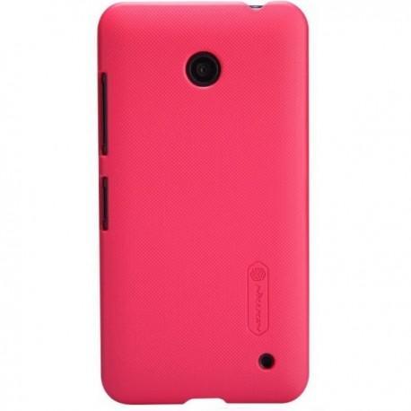 Etui za Nokia Lumia 630/635,zadnji pokrovček,rdeča barva+folija ekrana