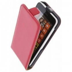 Torbica za Nokia Lumia 630/635,preklopna,rdeča barva+folija ekrana