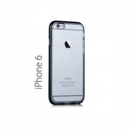 Etui za Apple iPhone 6 (4.7)TPU Clear Cover Črna barva+Folija ekrana