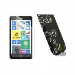 Silikon etui za Nokia Lumia 625,motiv kroglice+folija ekrana
