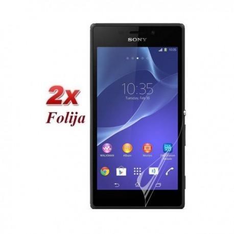 Zaščitna Folija ekrana za Sony Xperia M2 ,Duo pack