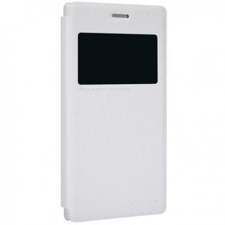 Torbica za Sony Xperia M2 S-View ,Bela barva