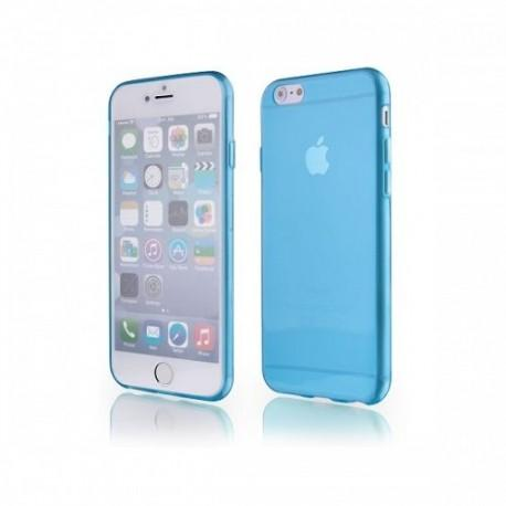 Silikon etui za Apple iPhone 6 (4.7) TPU +Folija ekrana Modra barva